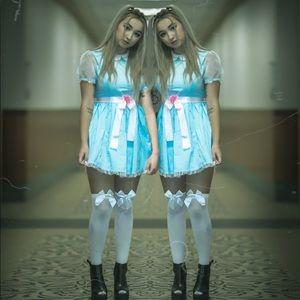 Dolls Kill Dresses - The shining twins costumes